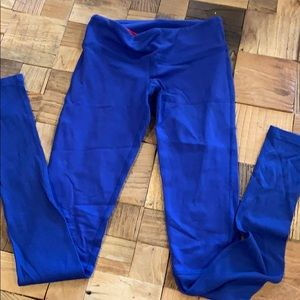 Splits 59 (Pure Barre line) Blue Legging